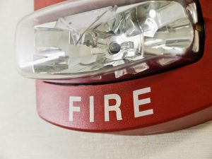Fire Strobe - Valley Fire and Security Alarms